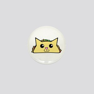 Taco Cat Mini Button